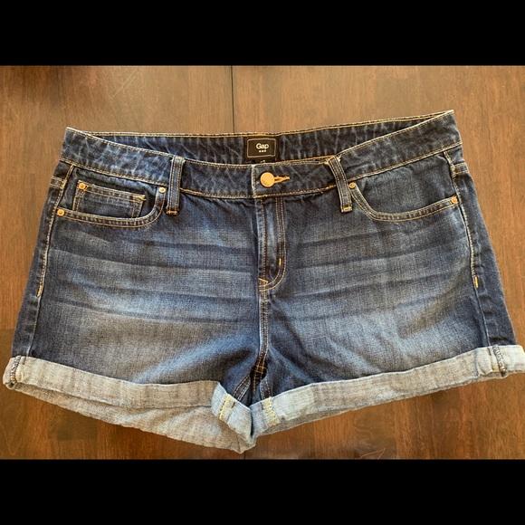 GAP Pants - Gap Shorts Dark Denim